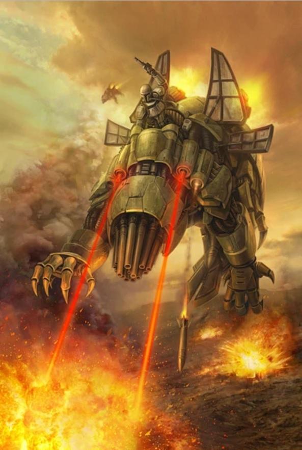 Basilisk war droid2