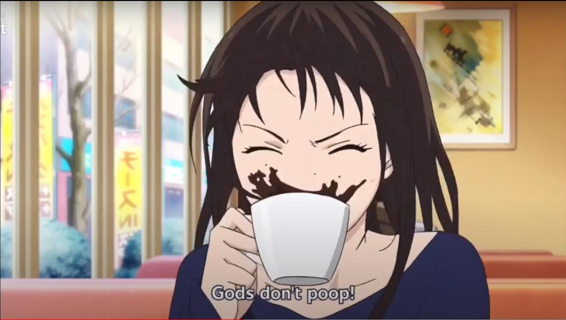 noragami gods don't poop 1