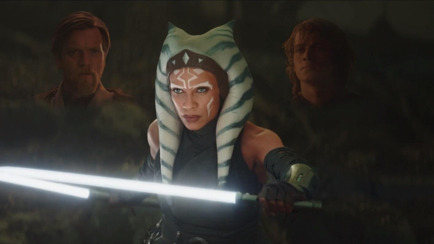 Anakin, Obi-Wan, and Ahsoka (live action)