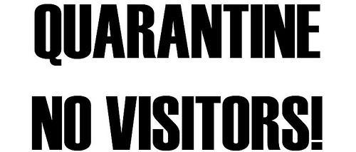 quarantine-sign