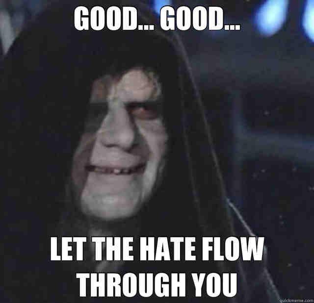 Star Wars Emperor Palpatine Memes - Geeks + Gamers