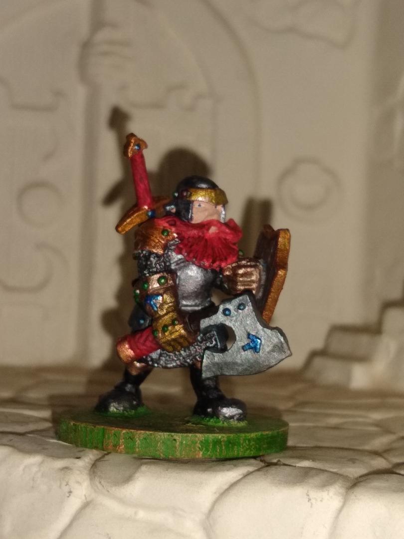 Dwarf knight 12