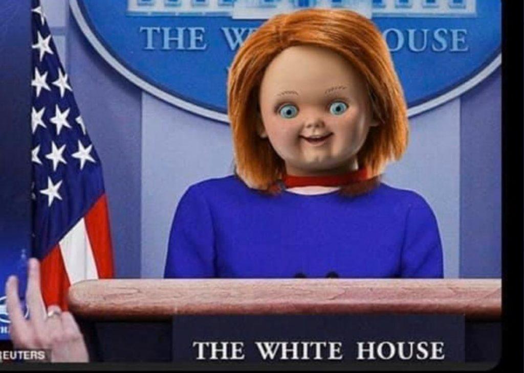 PHOTO-Jen-Psaki-With-A-Crazy-Clown-Doll-Face-Meme-1024x730
