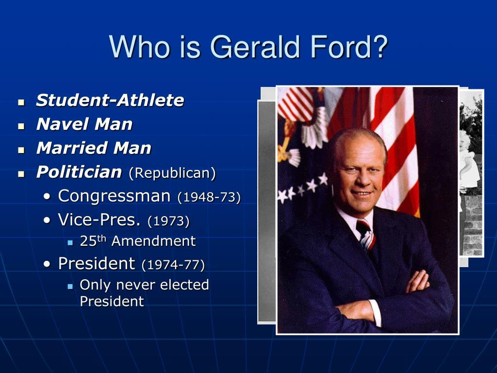 who-is-gerald-ford-l