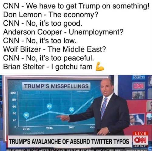 cnn-have-to-get-trump-cant-economy-peace-unemployment-brian-stelter-misspellings