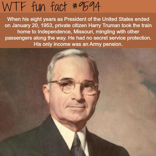 fun-facts-president-harry-trueman-wtf-fun-fact